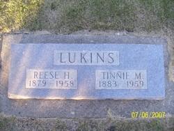 Tinnie M <i>Tripp</i> Lukins