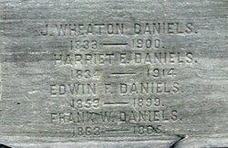 Harriet Elizabeth <i>King</i> Daniels