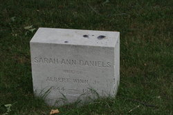 Sarah Ann <i>Daniels</i> Winn