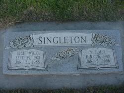 B Elmer Singleton