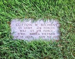 Clifton W Richens