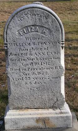 Eliza H. <i>Carr</i> Poynton