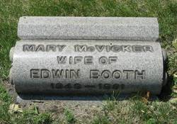 Mary <i>McVicker</i> Booth