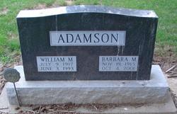 Barbara M. Adamson