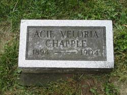 Acie Veloria Chapple