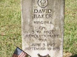 Corp David Baker
