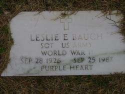 Leslie Ernest Bauch