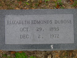 Mary Elizabeth <i>Edmonds</i> DuBose
