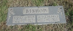 Mabel C. <i>Gordon</i> Bishop