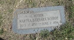Martha Barbara <i>Eyers</i> Bishop