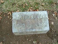 Martha Ann <i>Reid</i> Clark