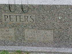Ollie G Peters