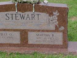 Martha <i>B</i> Stewart