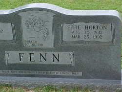 Effie <i>Horton</i> Fenn
