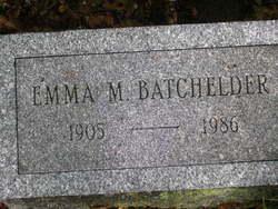 Emma <i>Schaffner</i> Batchelder