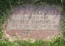 Forrest Daniel Anthony