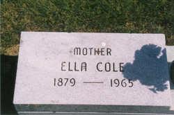 Ella <i>Begley</i> Cole