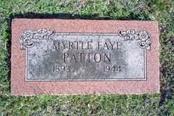 Myrtle Faye <i>Daniel</i> Patton