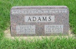 Lloyd Robert Adams