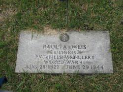 Pvt Paul A. Weis