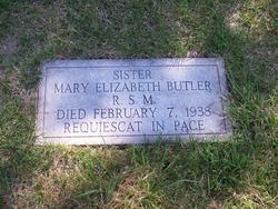 Sr Mary Elizabeth Butler, RSM