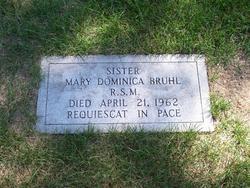 Sr Mary Dominica Bruhl, RSM
