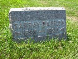 Sabray <i>Carter</i> Barrow