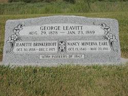 Janet <i>Brinkerhoff</i> Leavitt