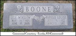 Flossie Louise <i>Gray</i> Boone