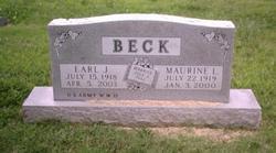 Maurine Lucille <i>Franz</i> Beck