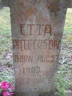 Etta Patterson