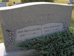 Dr John Maitland Askey