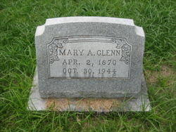 Mary A <i>Jones</i> Glenn