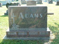 Frances M. <i>Condon</i> Adams