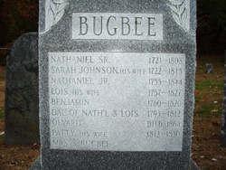 Sarah <i>Johnson</i> Bugbee