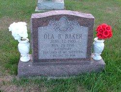 Ola B Baker