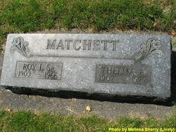 Roy L. Matchett, Sr