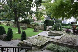 St Mary Aldermanbury Churchyard