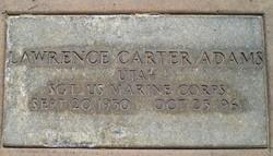 Lawrence Carter Adams