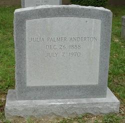 Julia <i>Palmer</i> Anderton