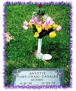 Annette Opal <i>Fort</i> ,Craig-Canales