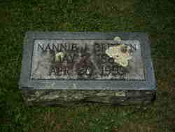Nannie June <i>Vernon</i> Britten