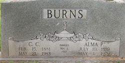 Alma Pearl <i>McMullen</i> Burns
