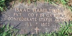 Pvt Isaac Hamilton