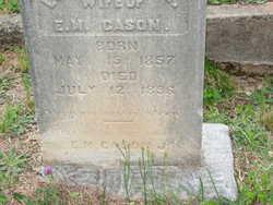 Lillian Lillie <i>Mitchell</i> Cason