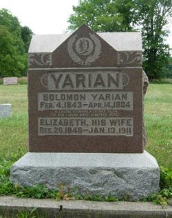 Sarah Elizabeth <i>Smith</i> Yarian