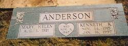 Mary Helen <i>Bland</i> Anderson