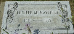 Lucille M <i>Filliez</i> Welce/Mayfield