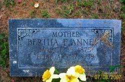 Bertha Florence <i>Massey</i> Annett