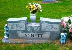 Ida Lee Clem <i>Wigley</i> Annett